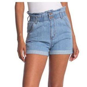 STS BLUE Hayley Hight Rise Paper Bag Shorts 27